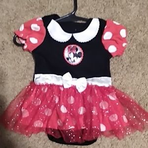 Disney Baby Minnie Dress size 0-3 Months